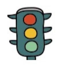 Stoplicht, stoppen of doorrijden