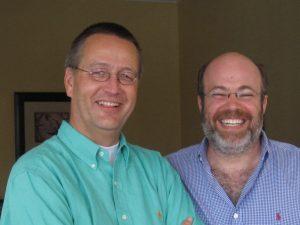 Josh Freedman en Aart Pijl, collega's in organisatieadvies