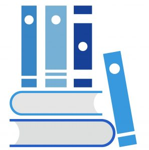 Een stapel boeken met klassiekers in organisatieverandering