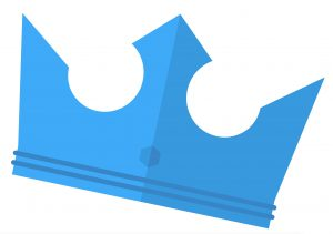 Een kroon als symbool voor machtsafstand