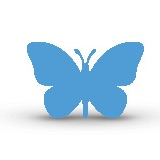 Een vlinder bij de analogie van het vlindereffect