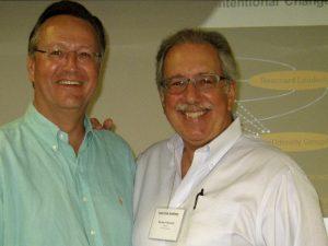 Richard Boyatzis en Aart Pijl, collega's in organisatieadvies