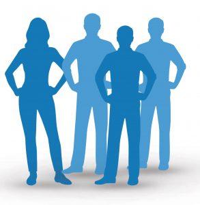 Een managementteam met loss individuen